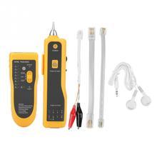цена на JW-360 LAN Network Line Finder Cable Detector Network Cable Tester RJ11 RJ45 UTP STP Line Finder Wire Tracker