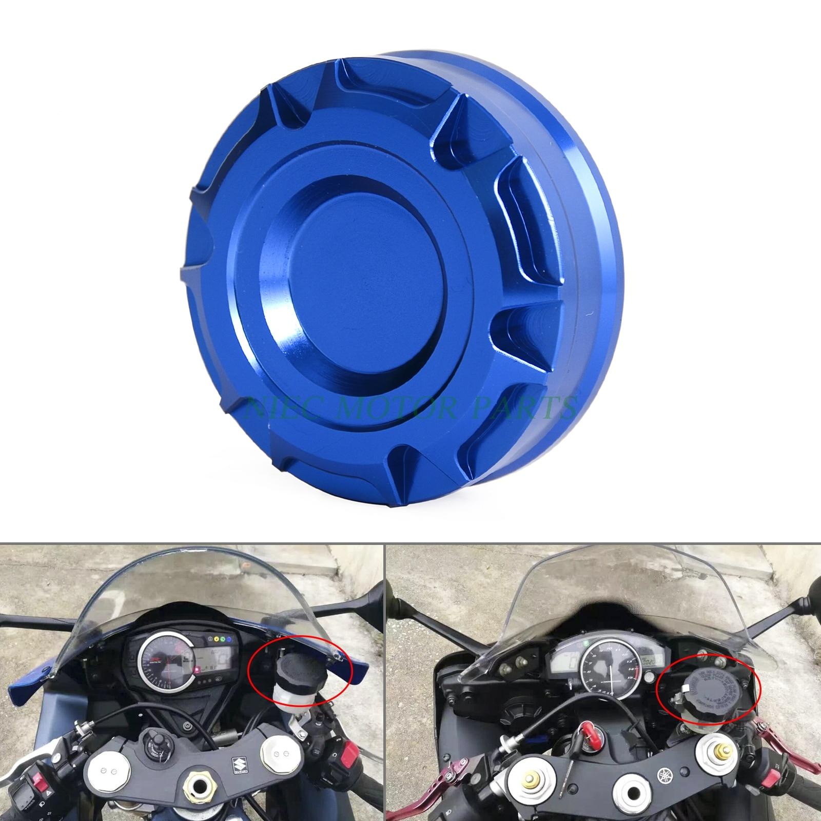For Yamaha R1 R6 BWM S1000RR  HONDA CBR600 1000 KAWASAKI Z1000 ZX10R GSXR600 750 1000 SV650 CNC Brake Reservoir Cap yamaha dbr15