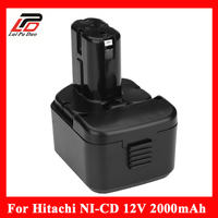 NEW 12v 2 0Ah Ni Cd Replacement Power Tool Battery For HITACHI 12V EB1212S DS12DVF3 Bcc1215
