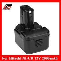 2000 мА/ч, 12 V 2.0Ah батарея для Hitachi EB1214S EB1212S WR12DMR CD4D DH15DV 12 V EB1220BL C5D, DS, 12DVF3