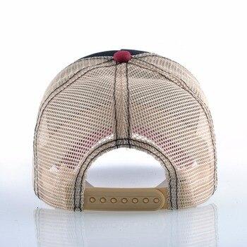 Fashion Baseball Cap Tiger Embroidery Patch Snapback Hats For Men Women Breathable Mesh Trucker Bone Unisex Hip Hop Casquette 2