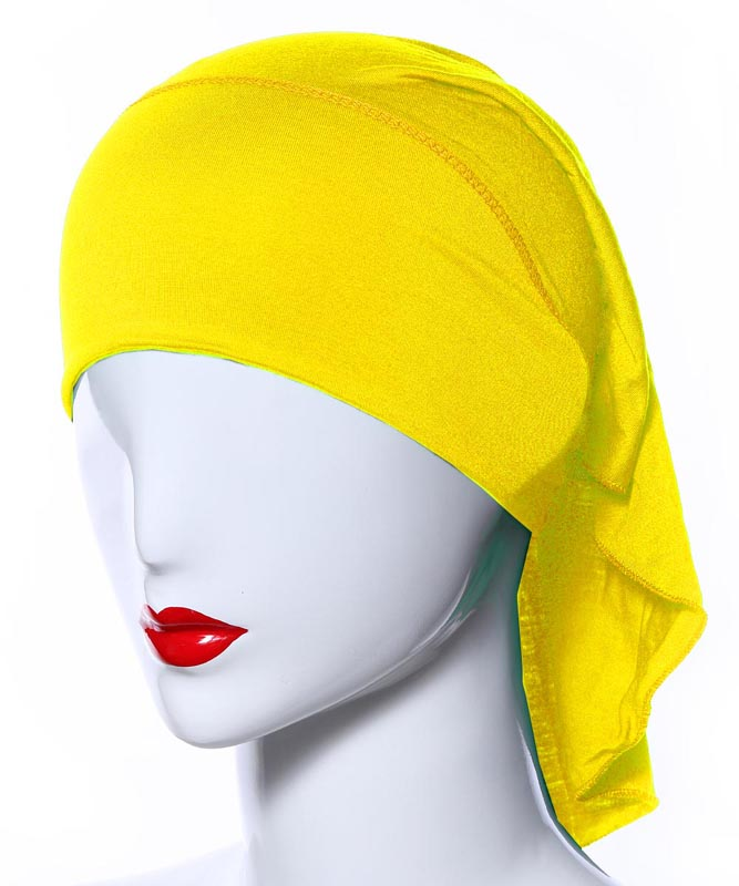 Image 5 - 20 Colors Muslim Women Soft Bone Ninja Inner Hijab Caps Islamic  Under scarf Hats Islamic Head Cover Chemo Cancer Headwear Wrap NIslamic  Clothing
