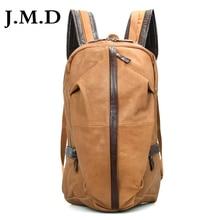 J.M.D 2017 New 100% Real Leather Vintage Leather Lady Mini Backpacks Bicycle Travel Bag School bag Shoulder Bag 7340