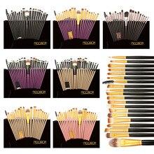 20pcs Professional Powder Blush Foundation Eyeshadow Eyeliner Lip Brush Kit Beauty Makeup Brushes Set Pincel Maquiagem