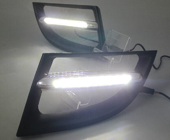 2011-13 Renault Megane led drl daytime running light top quality super bright with dimmer and auto off function fast shipping renault megane coupe 1999