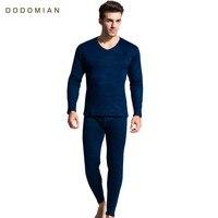 Long Johns Sets Tops+Pants Winter Thermal Underwear For Men Warm Thermal Clothes Men Mens long Underwear Thermal Clothing L XXXL