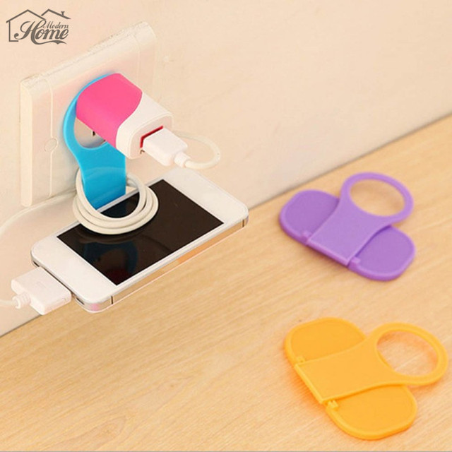 1pc Convenient Foldable Mobile Phone Charging Holder MP3 Camera ...
