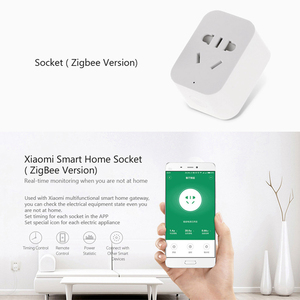 Image 3 - Xiaomi MIJIA 5 in 1 Smart Home Kit Bundle ZigBee Socket Gateway Hub Human Body Window Door Sensor Wireless Switch Mini