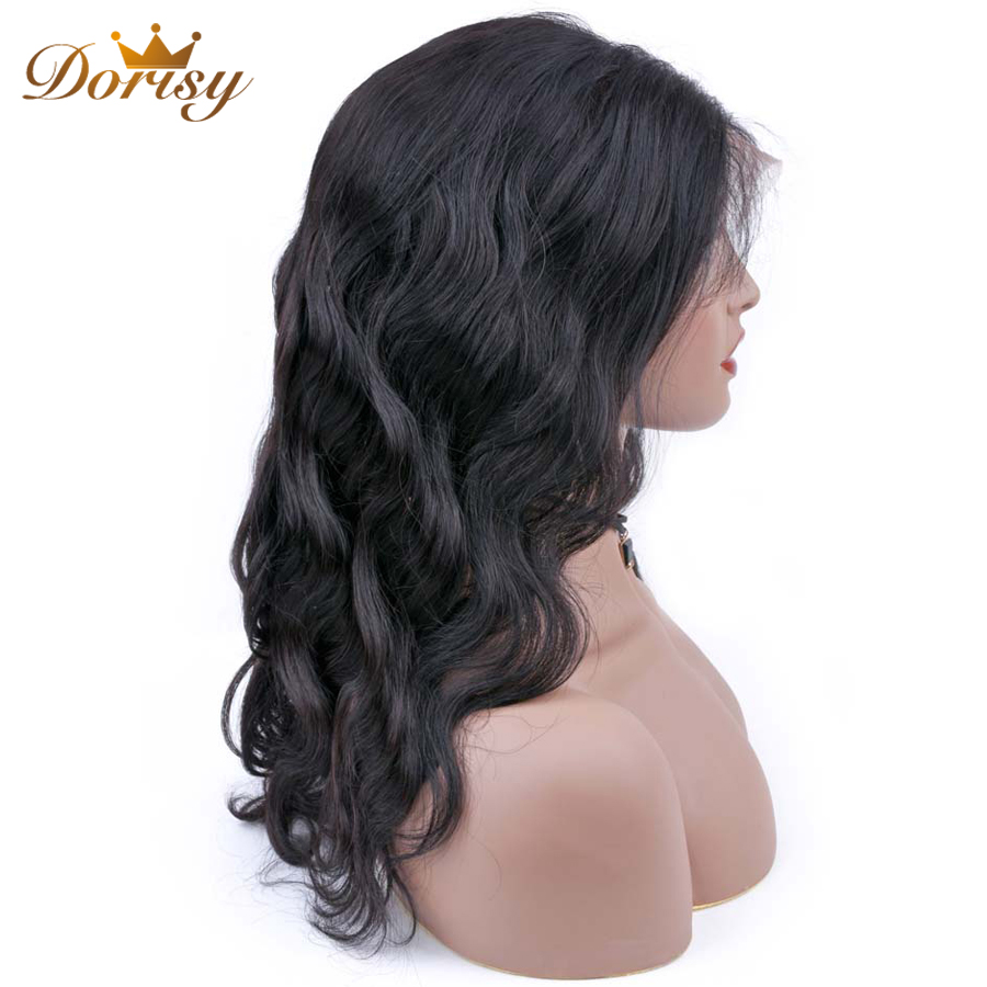 Lace Front Human Hair Wigs Lace Front Wigs For Black Women Lace Wig Pre Plucked With Baby Hair Peruvian Body Wave Non Remy in Human Hair Lace Wigs from Hair Extensions Wigs