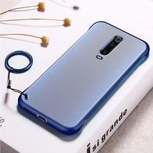 Two Color Simple Fashion Dull Polish Thin Phone Case For Xiaomi Mi9 Se Mi8 cover K20 Pro TPU Funda Luxury Capa Bumper
