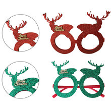 Fashion Christmas creative products decorative glasses frame unisex fancy dress decoration supplies