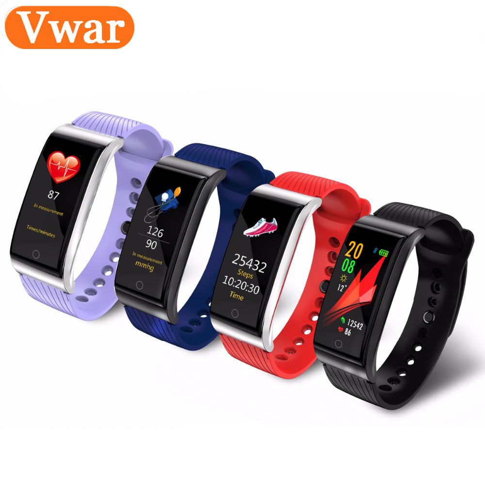 все цены на F4 Plus Smart Fitness Bracelet IP68 waterproof Blood Pressure Blood Oxygen Heart Rate Monitor Smart band For IOS/Android