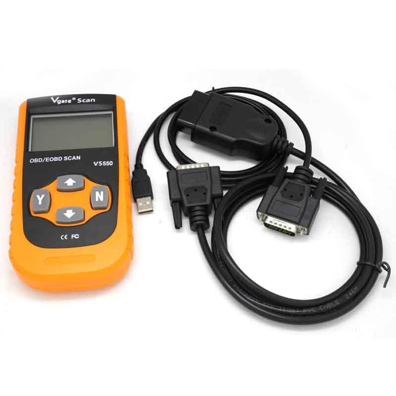 VS550 OBDII Vgate Scan Vehicle Detector Automotive OBD II OBD2 ODB Diagnostic Code Reader Scanner Scan Tool VS 550 JC15 mini elm327 usb vehicle obd scan tool atuo diagnostic scanner