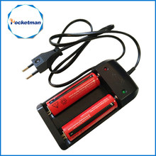 18650 3.7V Rechargeable Li-ion Battery + EU/US Plug AAA AA 18650 14500 10440 Universal Charger for Led Flashlight Torch Headlamp(China)
