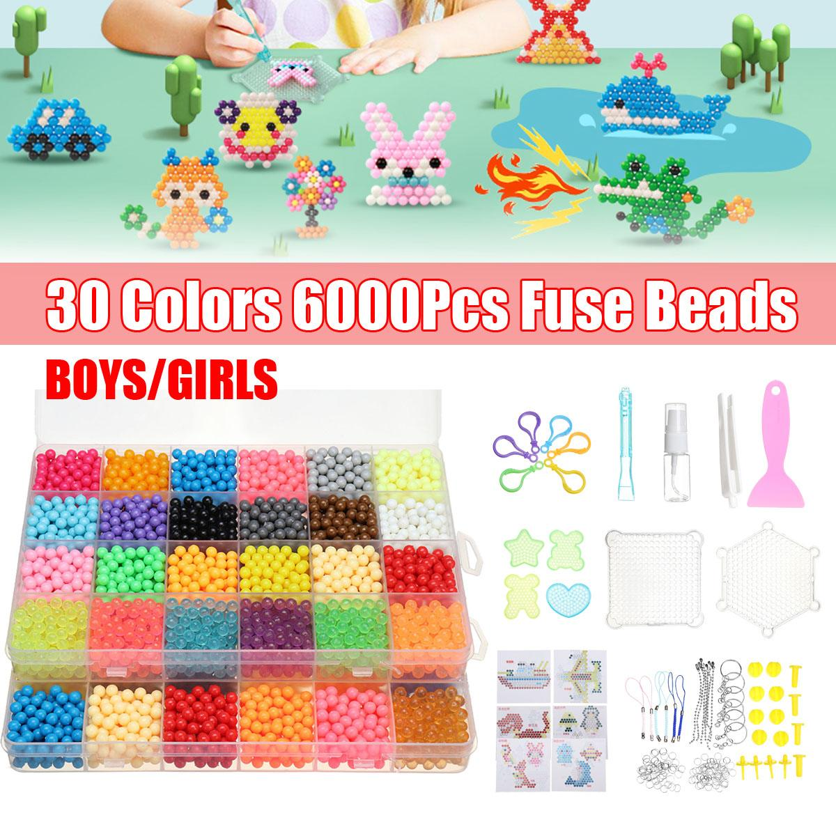 1Set Colorful Water Sticky Beads DIY Handmade Gift Round Foam Water Beads Refill Magic Art Crafts Compatible Beados Bottle Decor