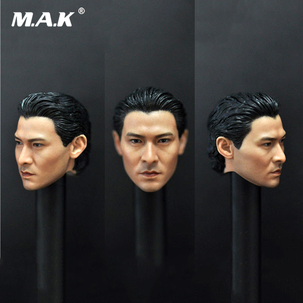1/6 China Asia movie Star Male Head Sculpt Andy Lau Head Model F 12'' Action Figure Collection Toys Gift 1 6 scale asia special force t01 peng yuyan figure head model for 12 action figure collection toys gift