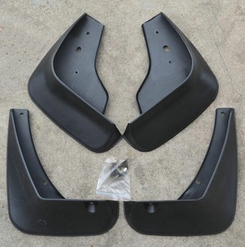 Toyota reiz 2010-2014 용 플라스틱 소재 머드 플랩 스플래쉬 가드 펜더 머드 가드 4 개