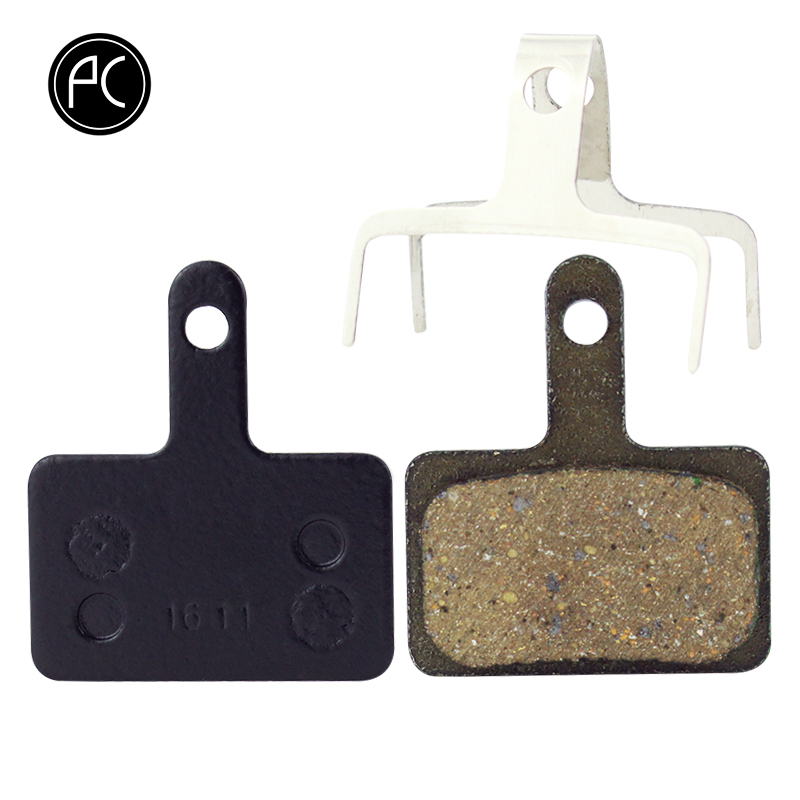 PCycling 4 Pairs Bicycle Resin Disc Brake Pads For Shimano M375 M395 M416 M445 M446 M485 M486 M515 M525 Tektro Orion Auriga Pro