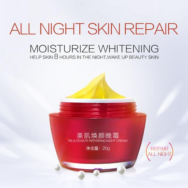 Night Whitening Cream face Skin Pigment Melanin Removing Freckle Speckle Firm Anti Wrinkle Moisturizing Dark Spot Free BBTOCC