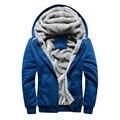 Winter Warm Hoodies Men Sweatshirts Brand Coat Uniform Sportswear Jacket Fleece Pluse Size 5XL Hoodies jaqueta masculina