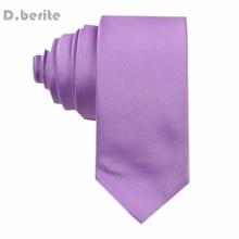 New Lilac Classic Necktie Silk ties Handmade Men's