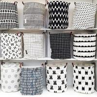Zakka INS Miscellaneous Goods Clothing Laundry Baske Storage Bag Kids Toys Clothing Bag Organizer Simple Eco