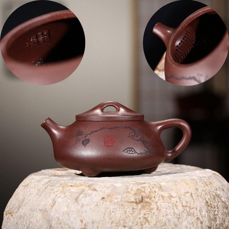 Recommandé en gros thé chaud yixing théière maîtres toutes les mains balle Kong Shi louche pot de style chaud en vente