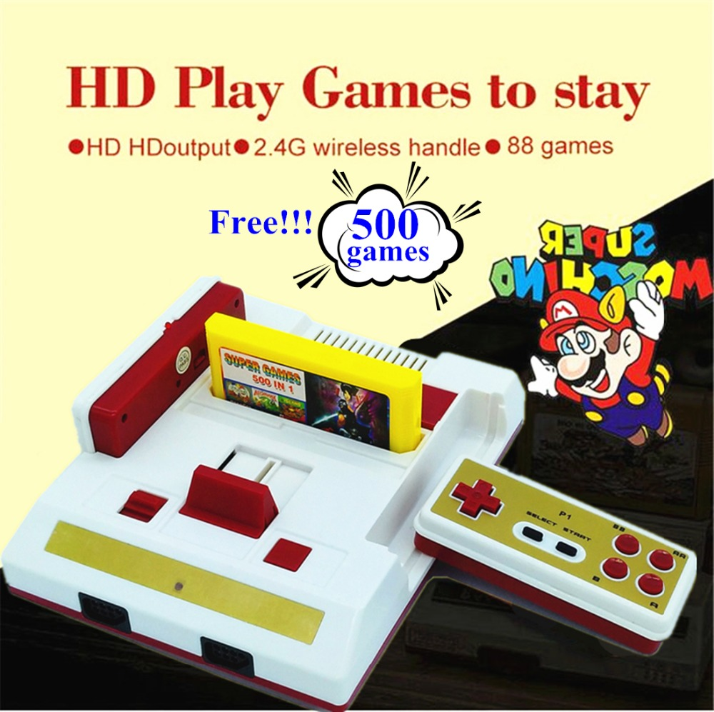aliexpress com buy hamy new hd video game console 588 free games