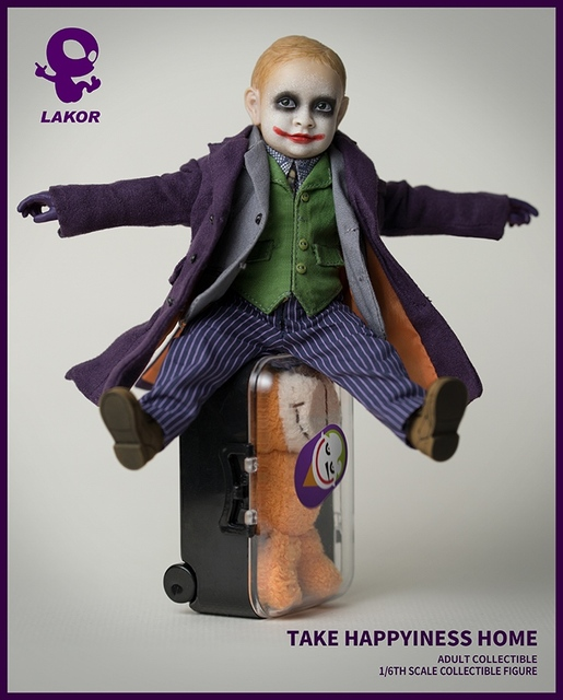 1/6 Scale Take Happiness Home Collectible Full Set 15cm Lakor JOKER Baby 2.0 Boy Action Figure Doll Model for Fans Colelction Gi