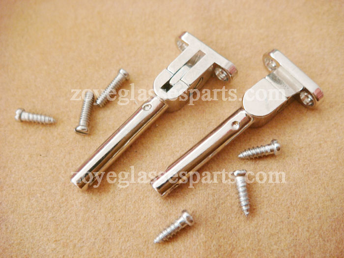ZOYE Promotion Sale Spring Hinge For Wood Glasses,eyeglass Hinge ZSH-07 Nickel Color Fast Shipping In 1 Day By E-packet