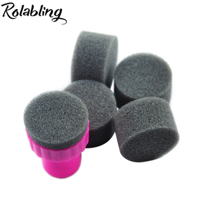 5pcs/bag Nail Art Sponge Nail Art Kit for Nail Stamp Tool DIY Nail Stamping Stamper Image Transfer Polish nails Printing Tools