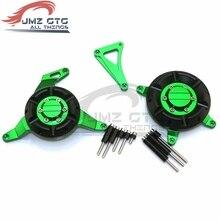 Для Kawasaki Ninja 250 300 Z250 Z300 аксессуары для мотоциклов CNC алюминиевый статор двигателя защитная крышка