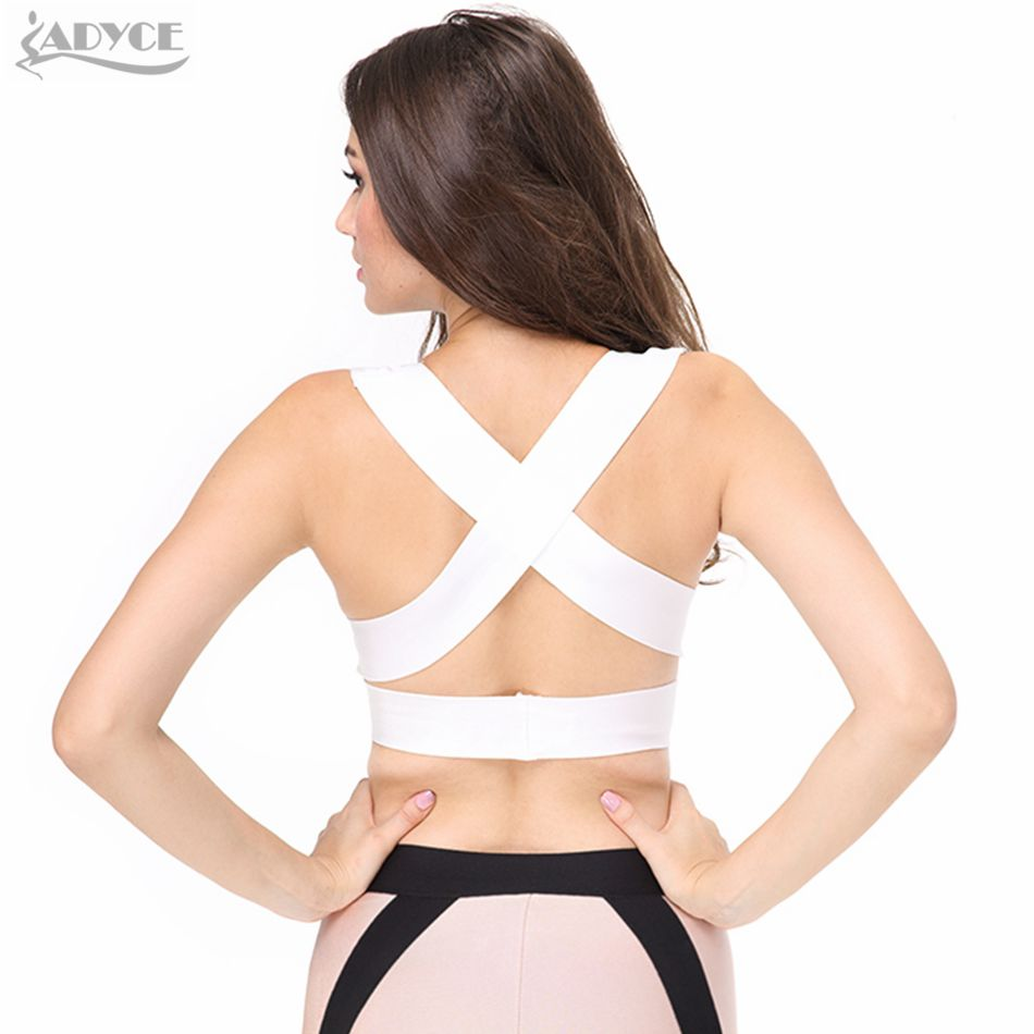 0d22beafb98ed8 2017 New strap Kim Kardashian Ladies black red white deep Sexy V neck  Fashion Knitted Bandage Crop Tops tank-in Tank Tops from Women's Clothing  on ...