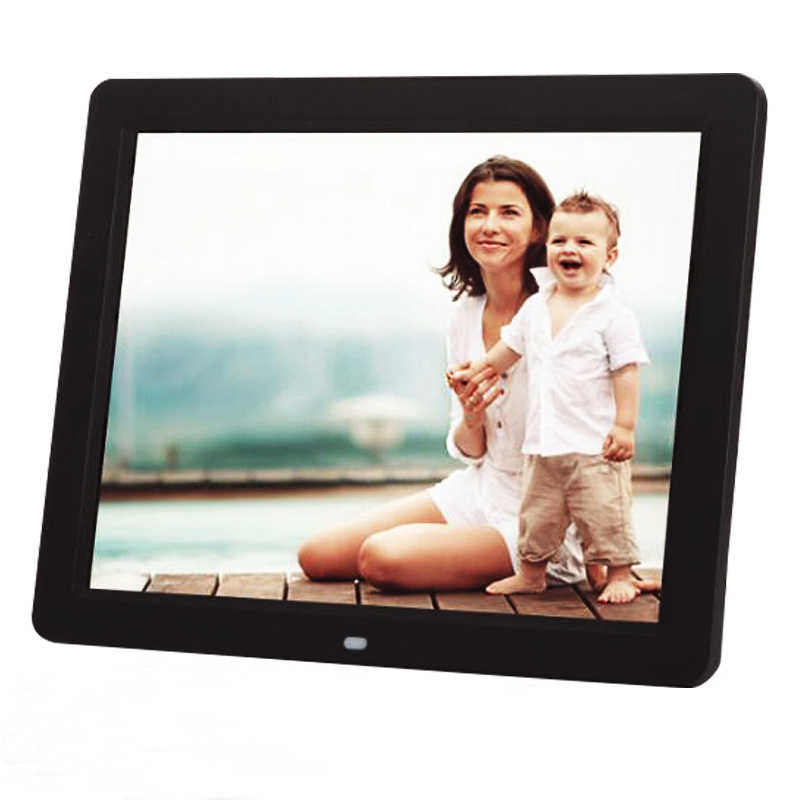 "Digital Photo Frame 10.2"" HD TFT-LCD 1024*600 Digital Photo Frame Alarm Clock MP3 MP4 Movie Player"