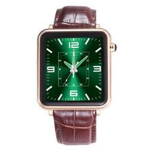 L1S BT 4.0 Business MTK2502A Smart Watch 1.54″ IPS Leather Wristwatch for iPhone 6/6S Plus IOS 7.0 Android 4.3 Above Smartphone