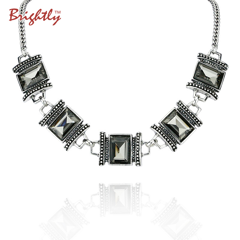 Brightly Fashion Statement Necklaces with Luxury Vintage