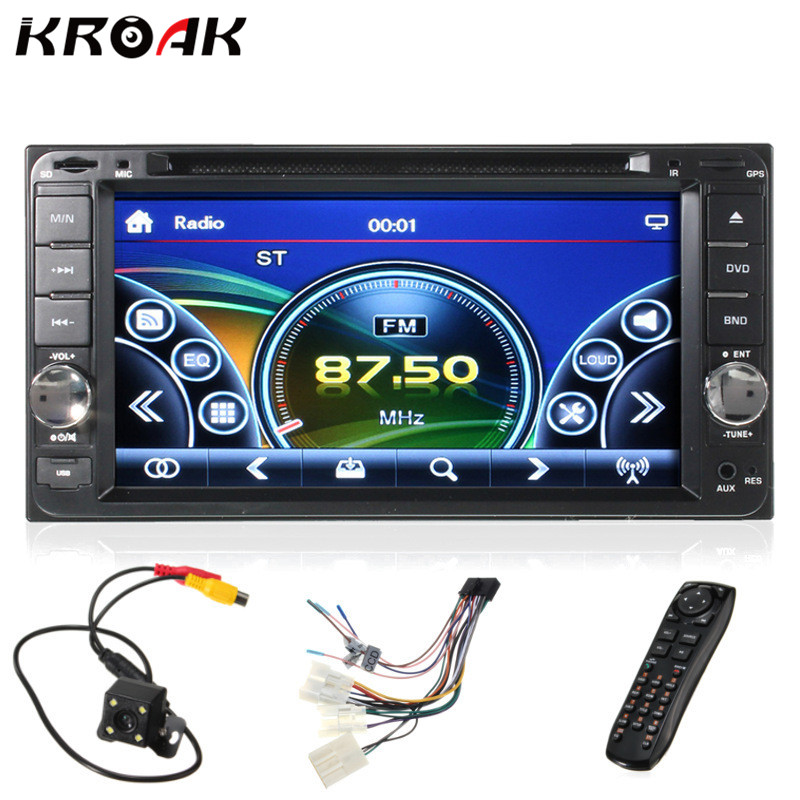 7 2 Din Car DVD Player Bluetooth Stereo Radio USB For Toyota Hilux Land Cruiser Corolla
