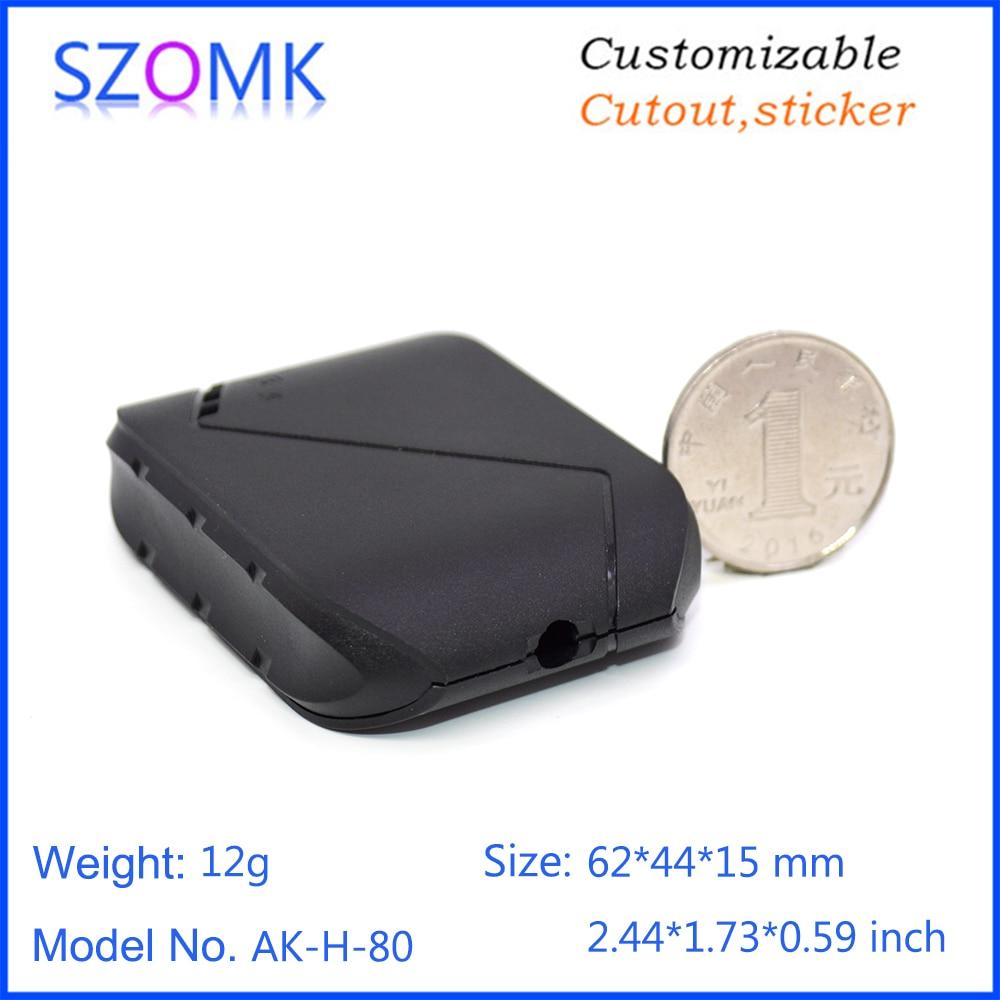 GPS plastic enlcosure szomk plastic enclosure box small instrument enclosure housing for electronics pcb design  (12)