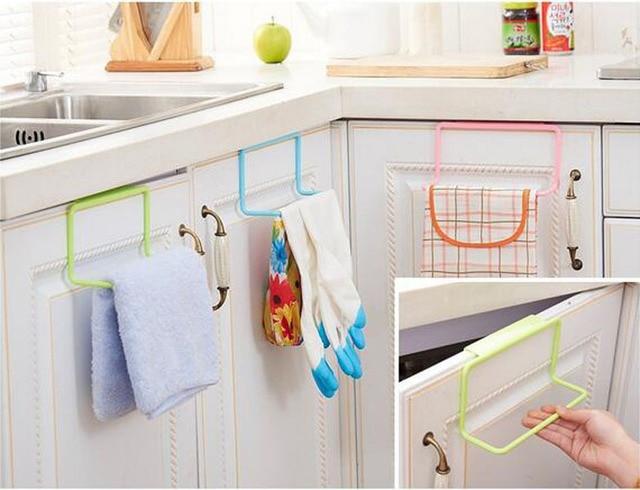 Hot Over Door Tea Towel Rack Bar Hanging Holder Rail
