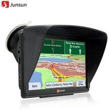 """Junsun 7 """"Pantalla Táctil Capacitiva de 8 GB de Navegación GPS Del Coche de Windows CE 6.0 FM MP3 MP4 Navigator Mapas de Por Vida"""