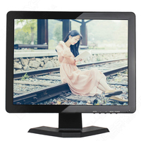 Capacitive touch screen monitor 15 inch lcd monitor touch screen 1024*768 touch monitor hdmi with VGA USB