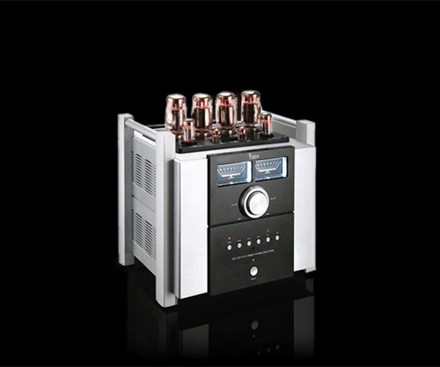 где купить YAQIN MS-120 Vacuum Tube power Amplifier AMP Use Russian TUNG-SOL KT120*4 6SN7EH * 2 12AX7EH * 2 UL:80W*2 TR:48W*2 по лучшей цене