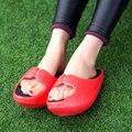 Sapatos Stovepipe Pós-parto Cintura Fina Perder Peso Chinelos Sandálias de Verão Feminina Sy-2042