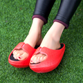 Stovepipe Shoes Postpartum Thin Waist Lose Weight Slippers Female Summer Sandals Sy-2042