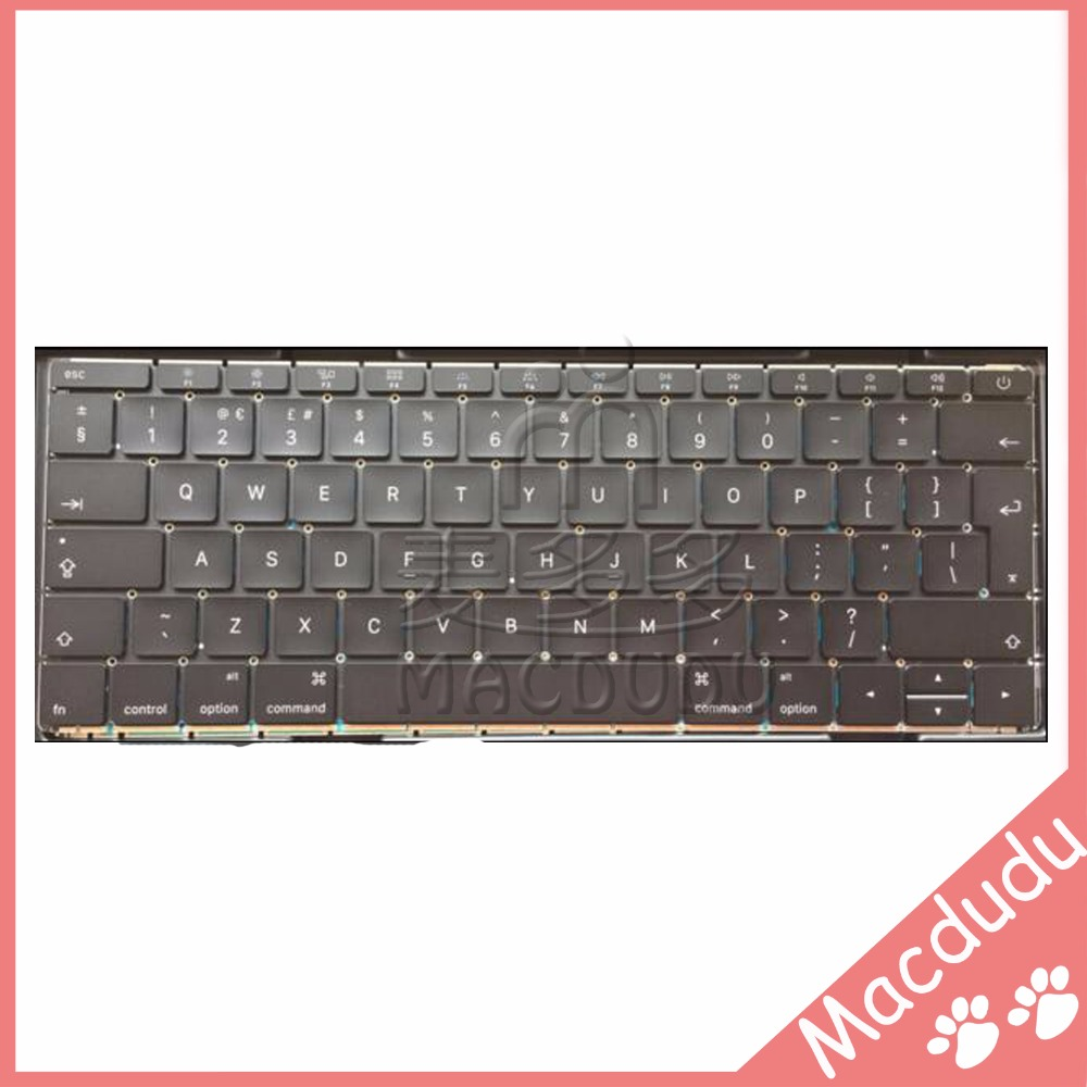 Brand New UK Keyboard with backlight for 12 Macbook A1534 2015 new topcase with tr turkish turkey keyboard for macbook air 11 6 a1465 2013 2015 years