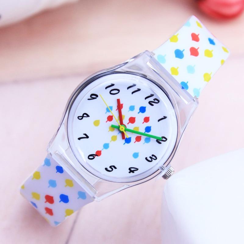 Watches Clock Birthday-Gifts Quartz Girl Waterproof Kids Children Women Fashion Casual