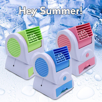 Portable Mini Air Conditioner Usb Small Fan Cooling Appliance Soothing Wind Desktop Home Office Aromatherap Air Cooler