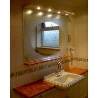1.52x1m/60x39.37 Clear Anti fog Film Car Rearview Mirror Car Anti Water Mist Film Protective Film Bathroom Mirror Glass Vinyl