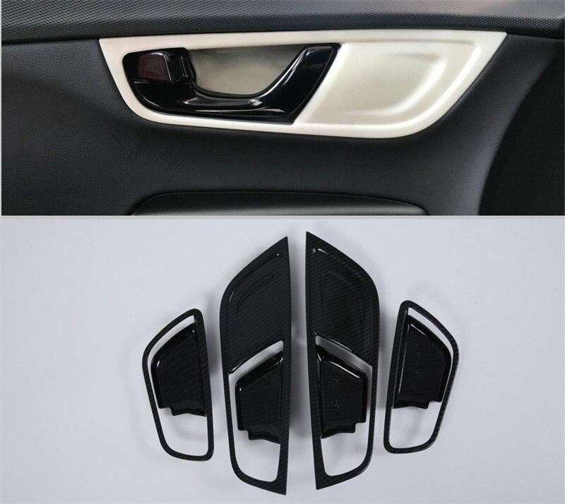 For Hyundai Kona Encino Kauai 2018 2019 Interior Door Handle Bowl Cover Inside Trim Frame Stickers Decoration Car Accessories|Chromium Styling| |  - title=