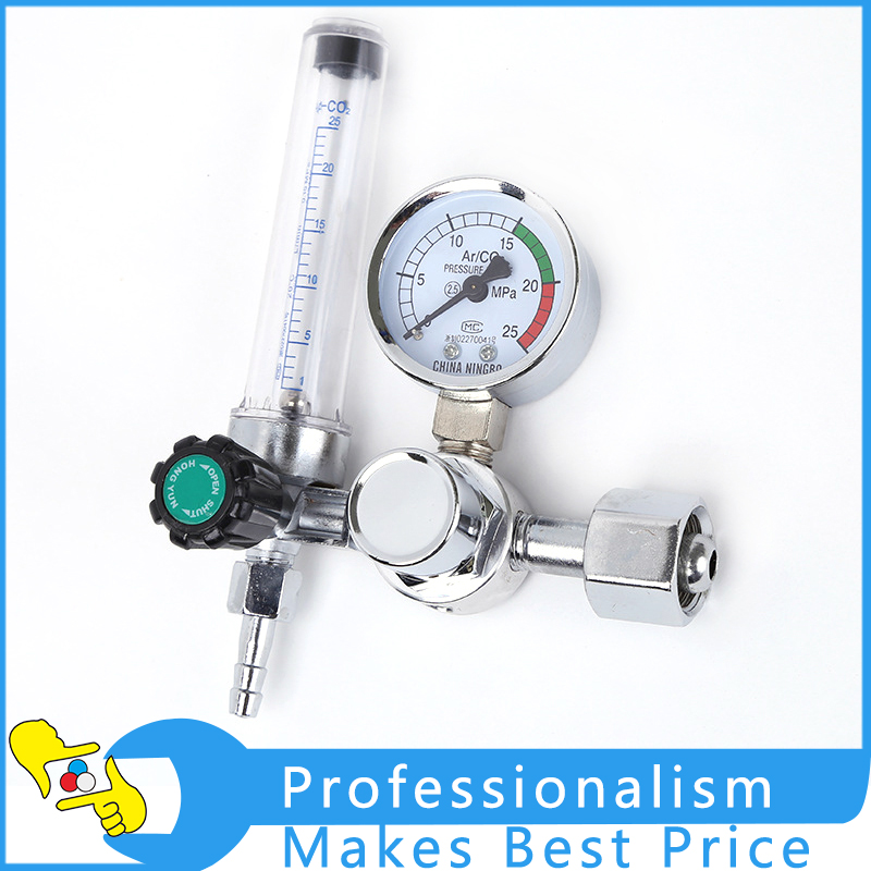 High Quality Welding Gas Meter Argon CO2 Pressure Flow Regulator MIG MAG Weld Gauge 0-25 Mpa htp argon co2 mig tig flow meter control valve regulator reduced pressure gas flowmeter welding weld flowmeter